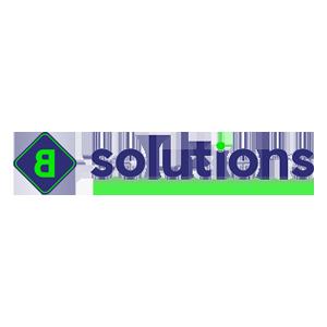 B Solutions logo