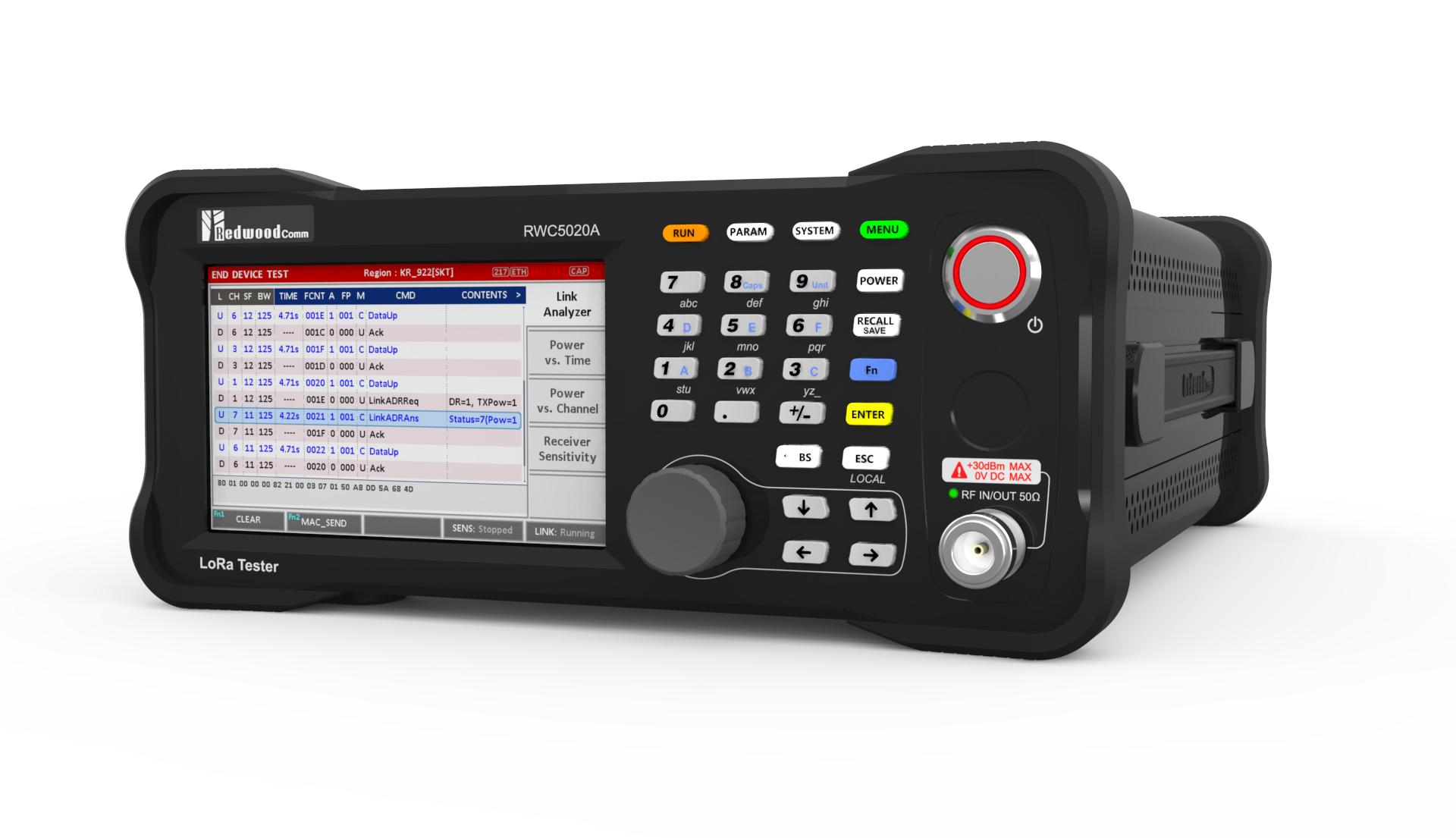 RWC5020A LoRaWAN Tester